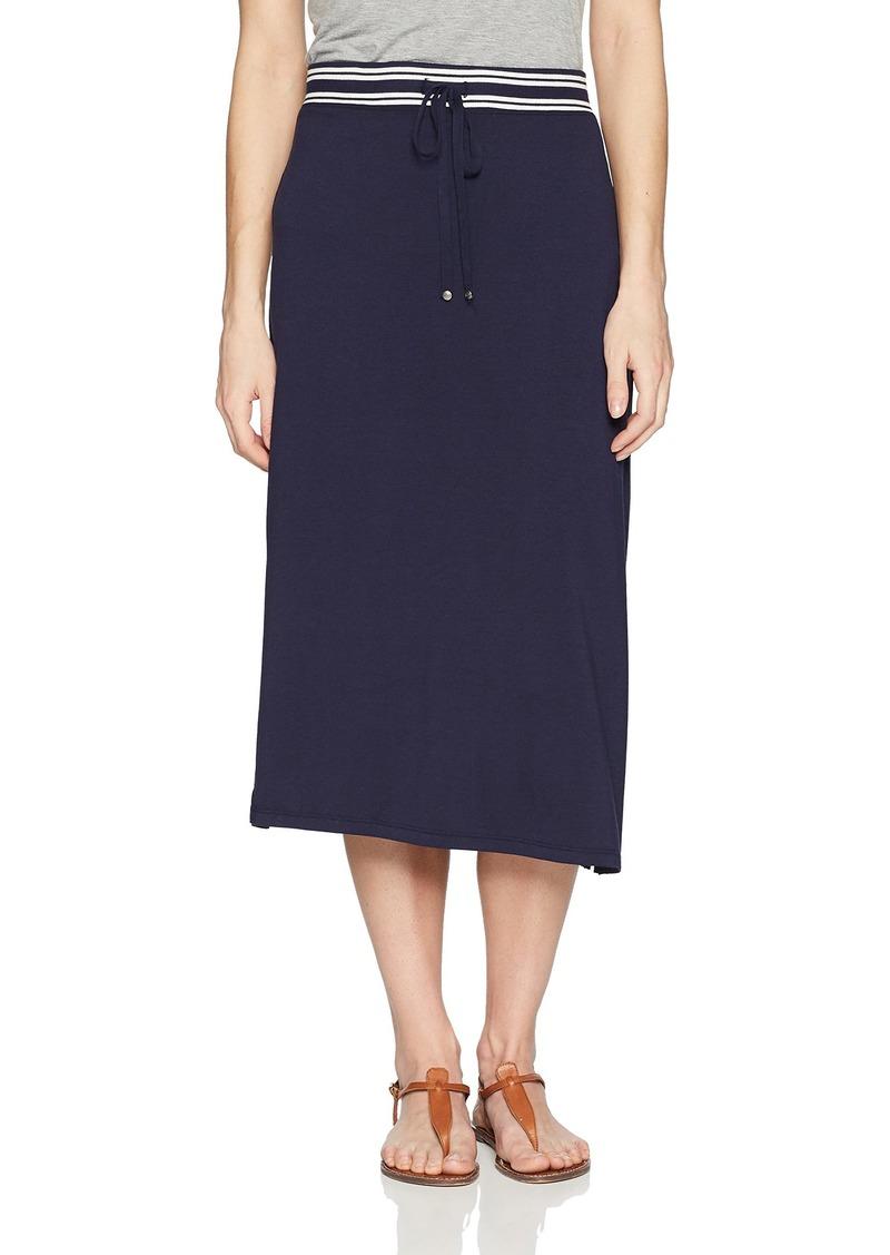 Max Studio Women's Tie-Front Midi Skirt  S