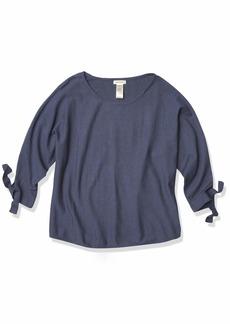 Max Studio Women's Tie Sleeve Sweater