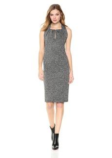 Max Studio Women's Tweedy Ponte Dress  XS