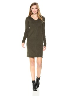 Max Studio Women's V-Neck Sweater Dress  L