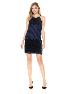 Max Studio Women's Velvet Devore Dress  M