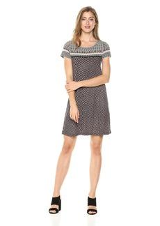 MAXSTUDIO Max Studio Women's Printed Matte Jersey Dress