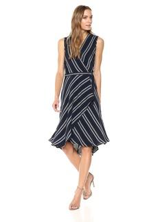 Max Studio Women's Sleeveless Belted Dress  S