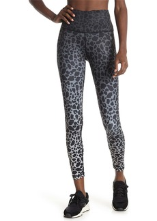 Max Studio Monday Cheetah Print High Rise 7/8 Leggings