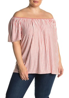 Max Studio Off-the-Shoulder Top (Plus Size)