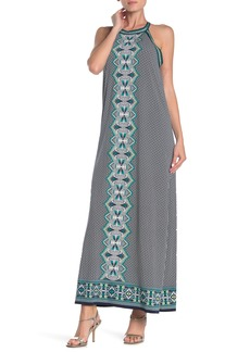 Max Studio Medallion Sleeveless Maxi Dress