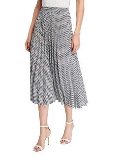 Max Studio Pleated Skirt