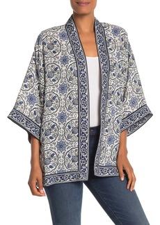 Max Studio Printed Bed Kimono