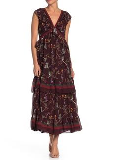 Max Studio Ruffle Tiered Maxi Dress