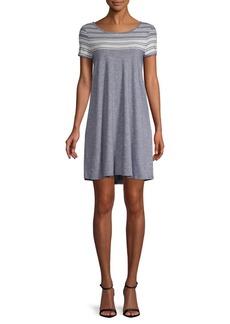 Max Studio Scoopneck T-Shirt Dress