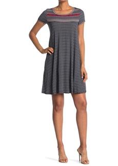Max Studio Short Sleeve Dress