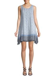 Max Studio Sleeveless Floral Dress