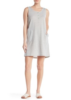 Max Studio Sleeveless French Terry Dress