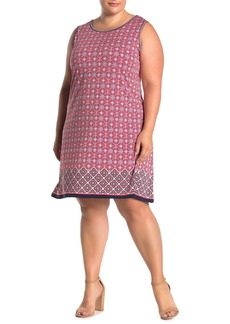 Max Studio Sleeveless Trapeze Dress (Plus Size)