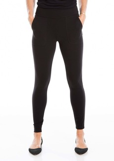 Max Studio Solid Pocket Leggings