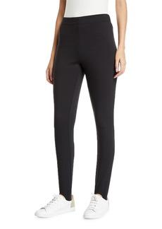 Max Studio Stirrup Mid-Rise Straight-Leg Pants