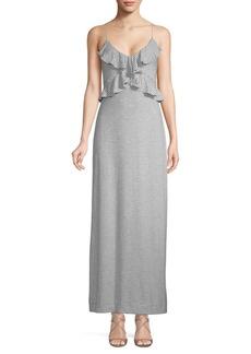 Max Studio Stripe Maxi Dress