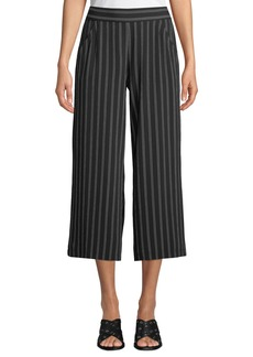 Max Studio Striped Culotte Pants