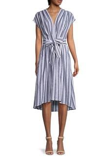 Max Studio Striped Dress