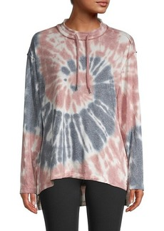 Max Studio Tie-Dyed Pullover Top