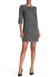 Max Studio Tweed Knit Mini Dress