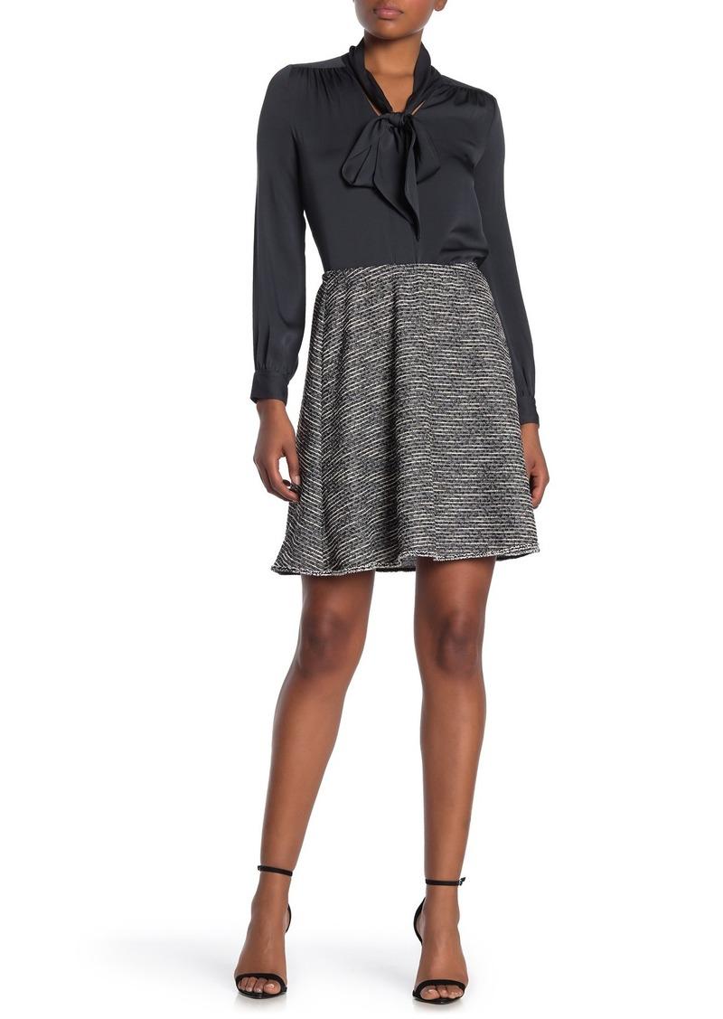 Max Studio Tweed Mini Skirt