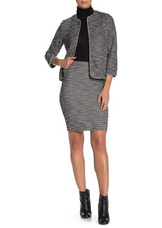Max Studio Tweed Pencil Skirt