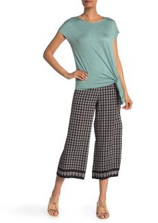 Max Studio Wide Leg Crop Pants