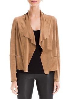 Max Studio Zip Suede Jacket