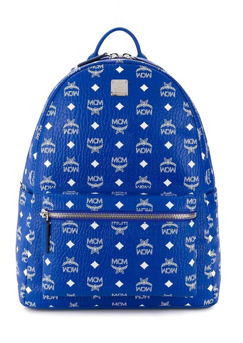 MCM all-over logo print backpack