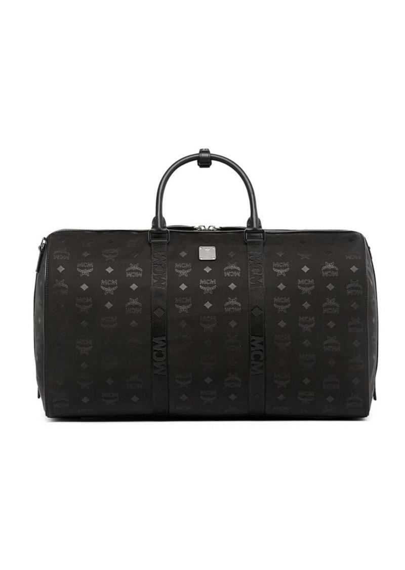 Mcm Ter Monogrammed Weekender Bag Bags