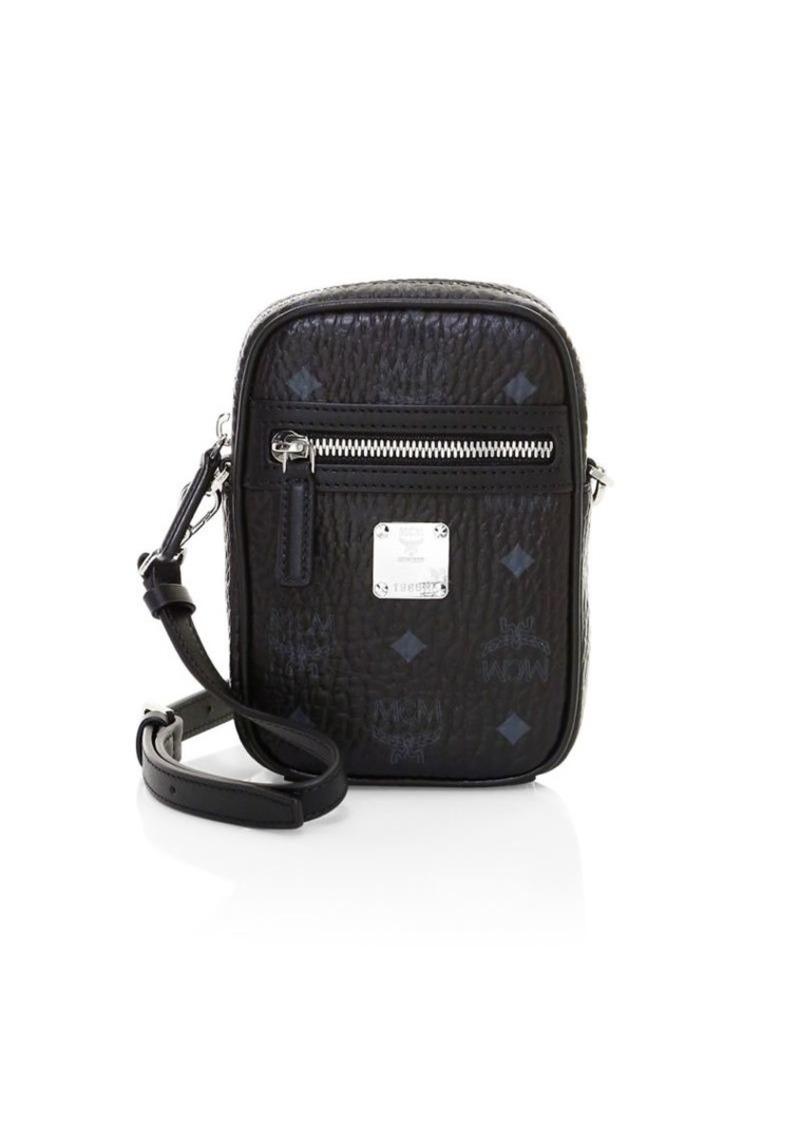 MCM Extra Mini Small Visetos Original Crossbody Bag