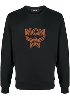MCM logo embroidered jumper