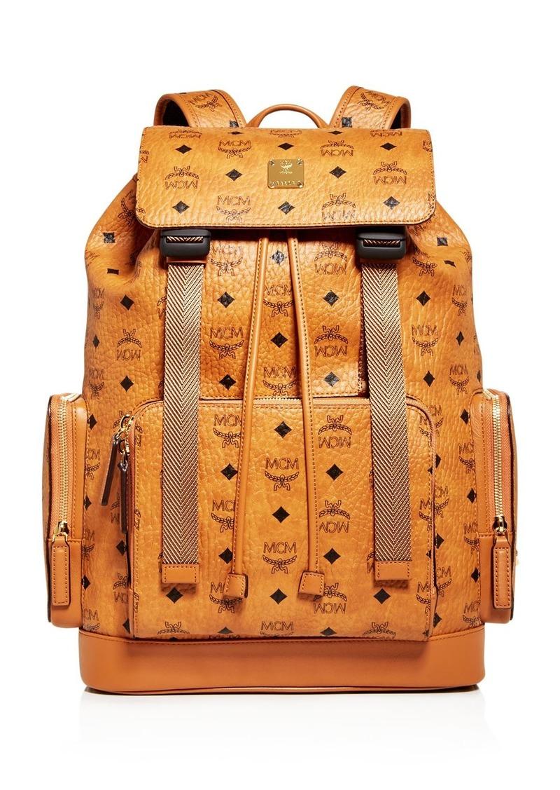 MCM Brandenberg Visetos Backpack