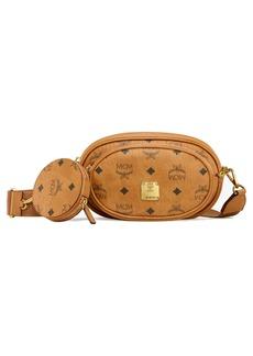 MCM Essential Visetos Original Triple Belt Bag
