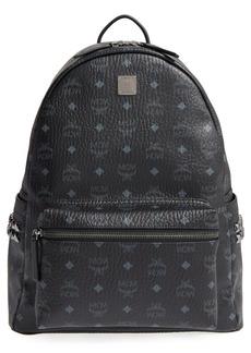 MCM Medium Stark Visetos Studded Backpack