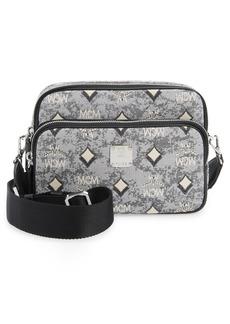 MCM Small Vintage Jacquard Crossbody Bag