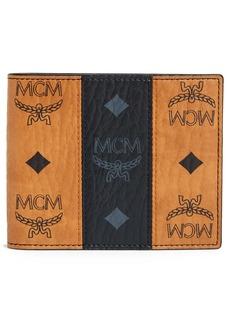 MCM Visetos Leather Wallet