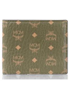 MCM Visetos Original Coated Canvas Bifold Wallet