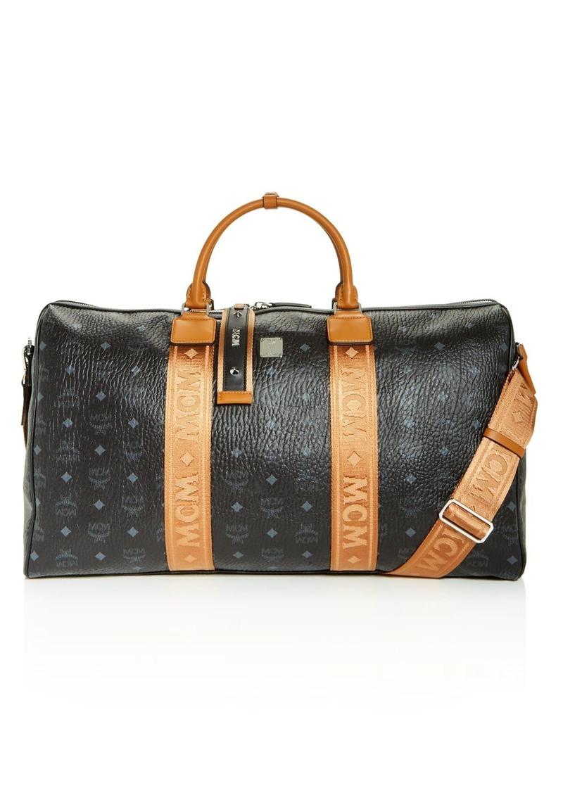MCM Visetos Weekender Travel Bag