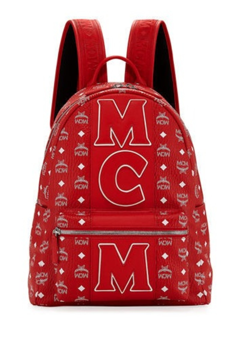 MCM Men's Exclusive Monogram Backpack