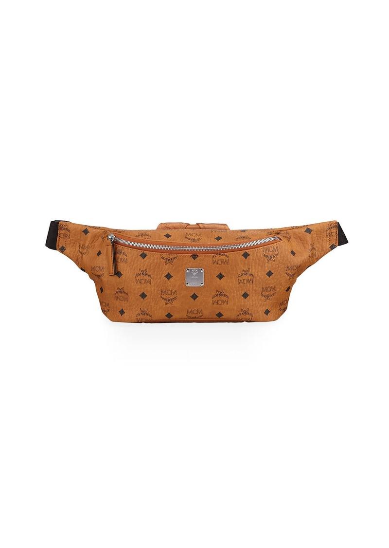 MCM Men's Jemison Visetos Medium Belt Bag/Fanny Pack