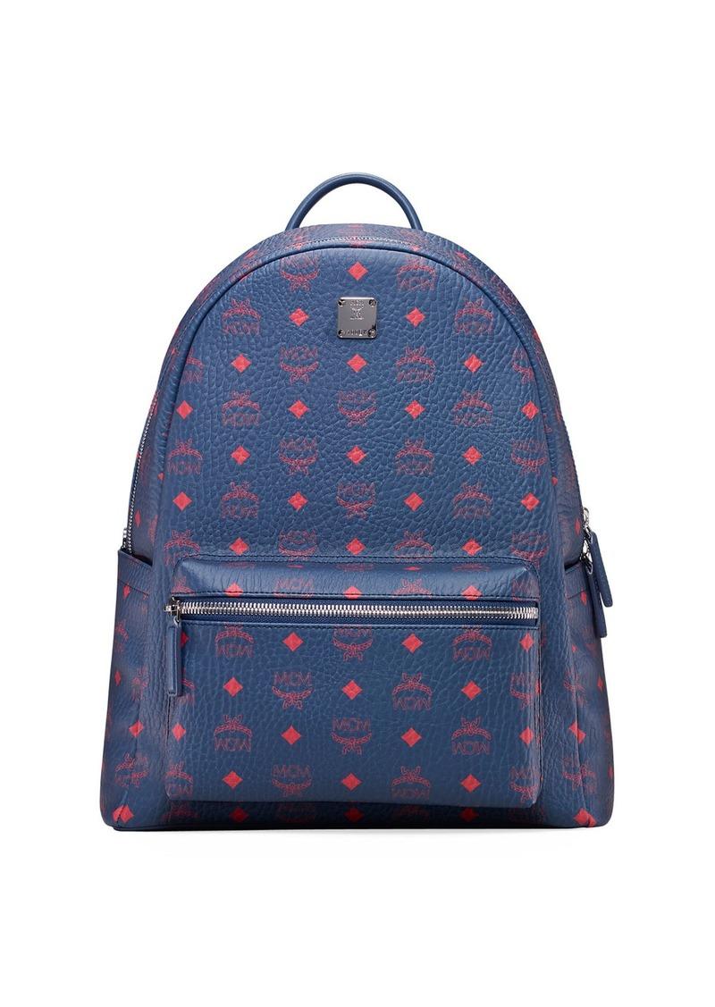 MCM Men's Stark 40 Visetos Coated Canvas Backpack