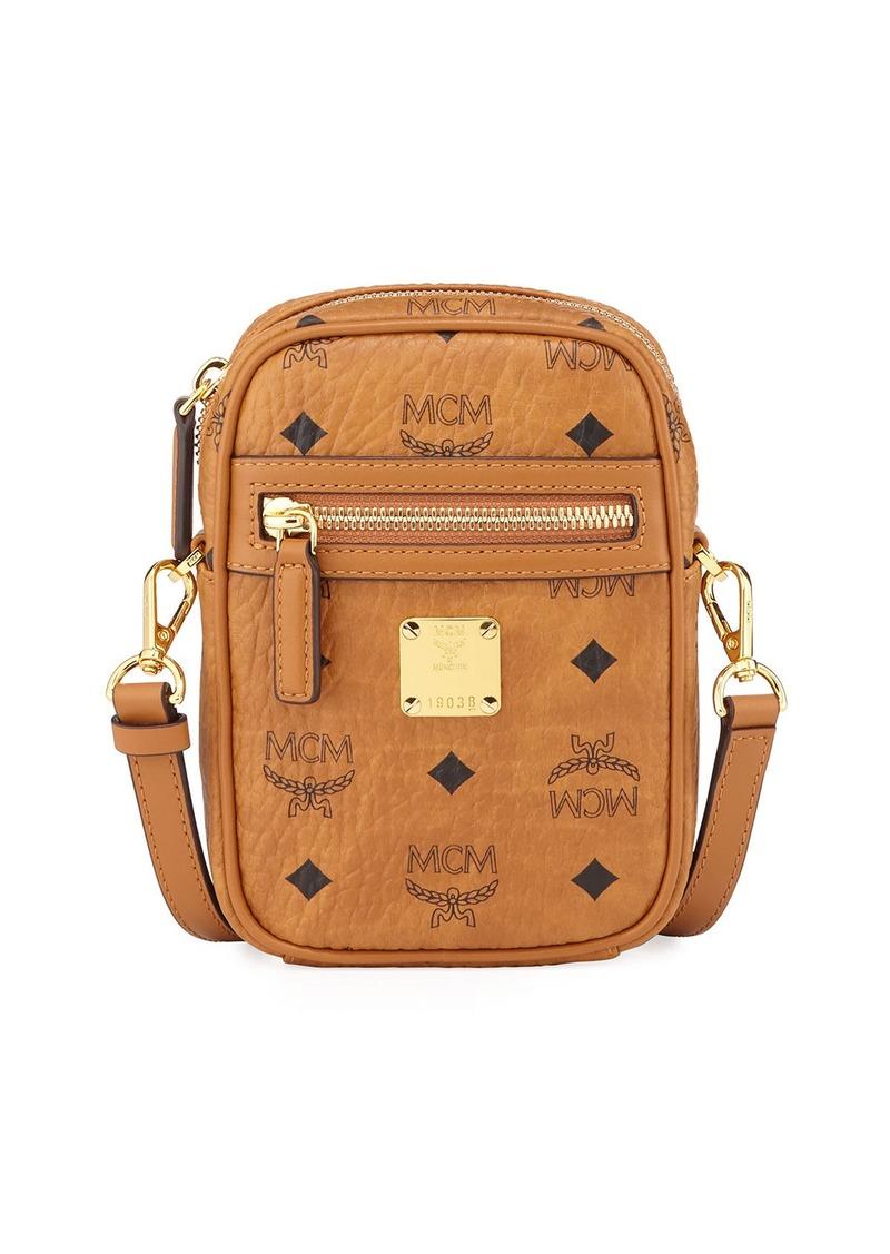 MCM Men's Visetos Small Crossbody Bag