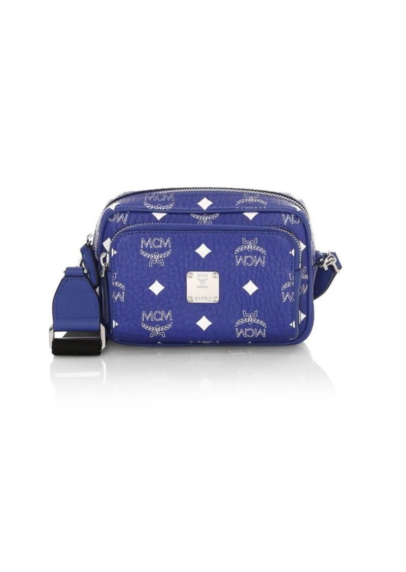 MCM Mini Klassik Visetos Crossbody Bag