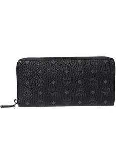 MCM Visetos Original Zipped Wallet Large