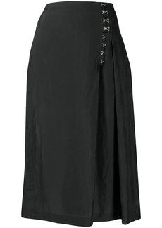 McQ Alexander McQueen A-line midi skirt