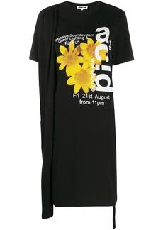 McQ Alexander McQueen Acid Warehouse T-shirt dress