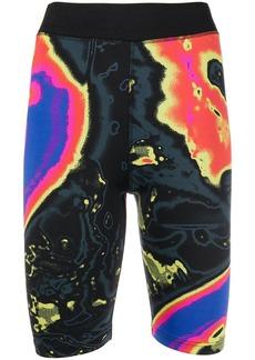 McQ Alexander McQueen Arcade cycling shorts
