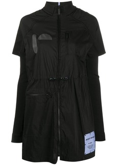 McQ Alexander McQueen Arcade layered shirt dress